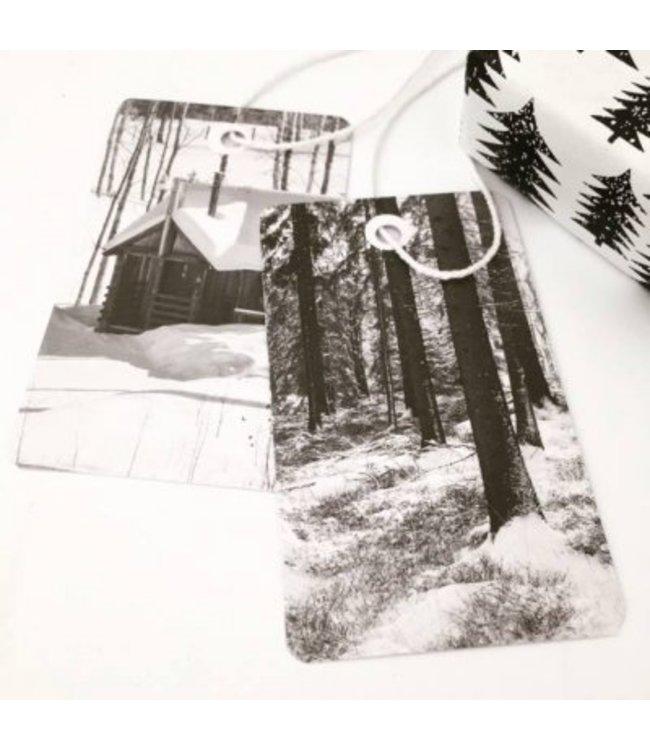 Jurianne Matter 6 Cadeau label - winterwandeling