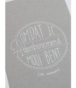 Clodette Kaart - Adembenemend