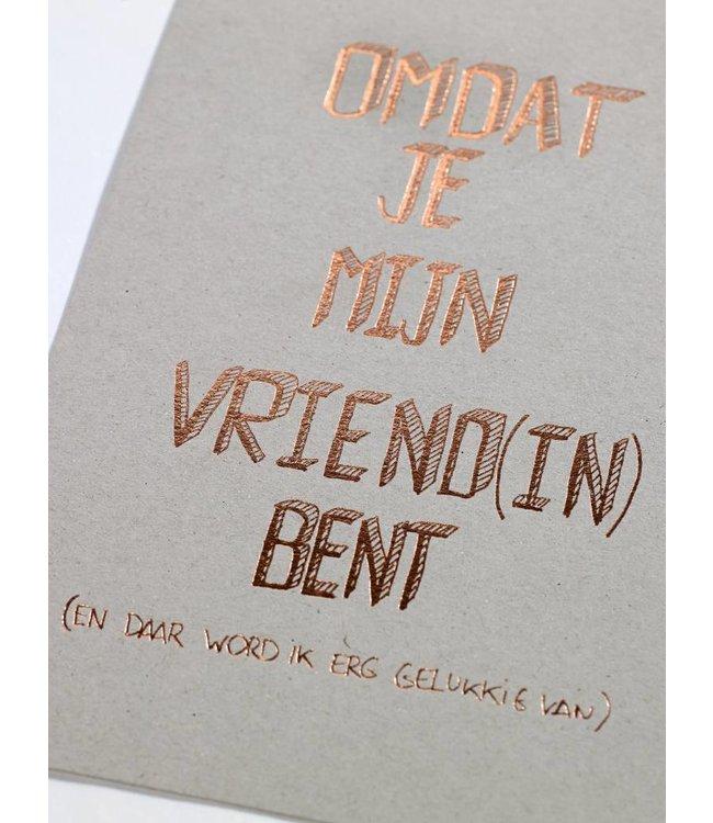 Clodette Kaart - Vriend(in)