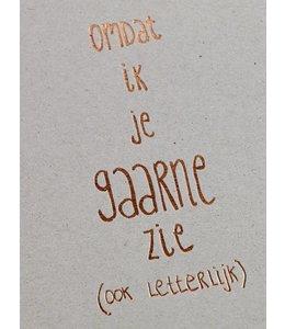 Clodette Kaart - Gaarne