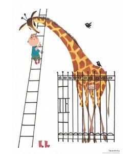 KEK Amsterdam Poster - Dikkertje dap en de giraf