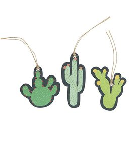 Dotcomgiftshop Cadeau labels - Cactus