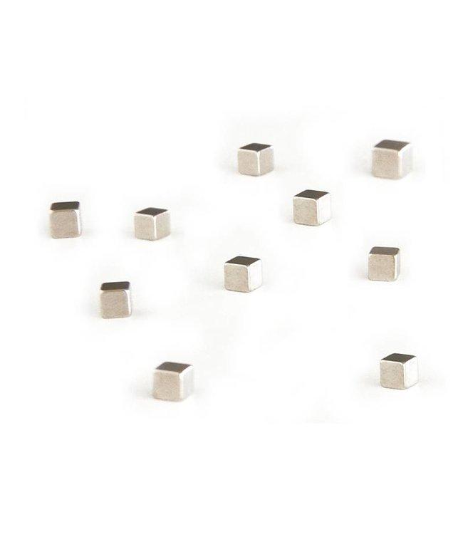 Trendform Magneten - kubus zilver