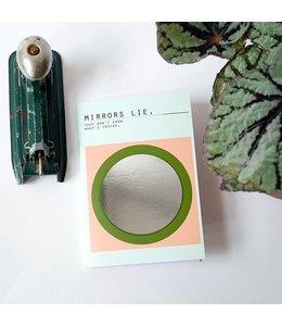 Bl-ij Pocket notitieboekje Mirrors - gelijnd