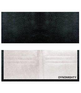 Dynomighty Portemonnee Billfold - zwart leer