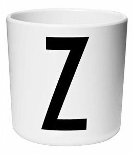 Design Letters Melamine beker - Z