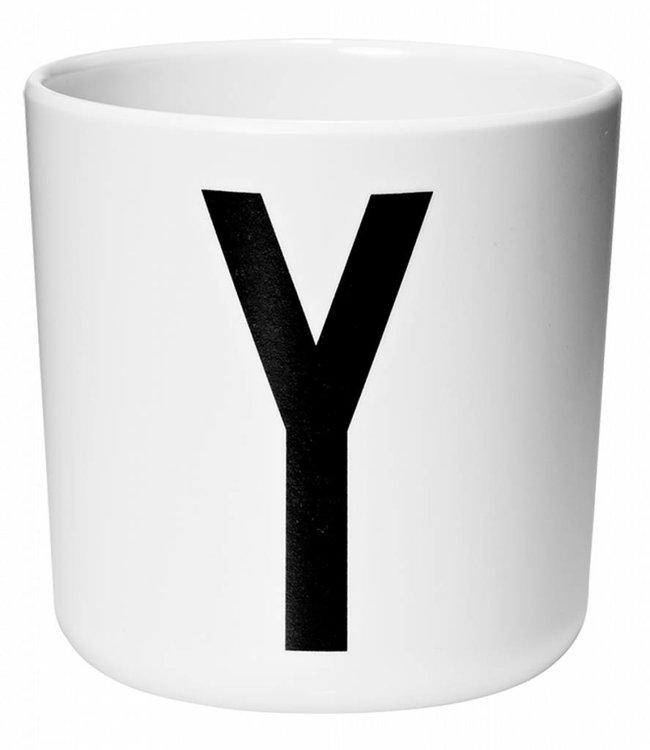 Design Letters Melamine beker - Y