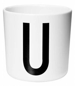 Design Letters Melamine beker - U