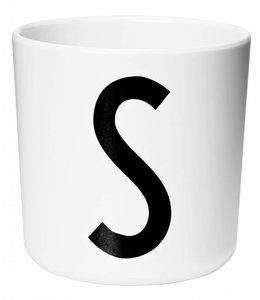 Design Letters Melamine beker - S