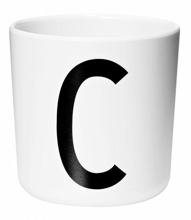 Design Letters Melamine beker - C