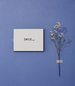 Design Letters Letterbord A4 - licht grijs