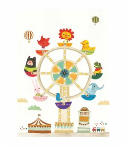 Petite Louise Poster A4 - Reuzenrad
