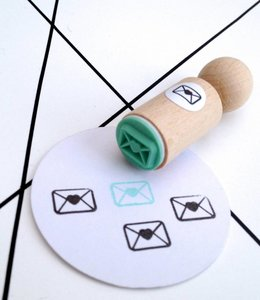 Miss Honeybird Mini stempel - Love post