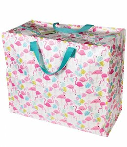 Dotcomgiftshop Big shopper - Flamingo