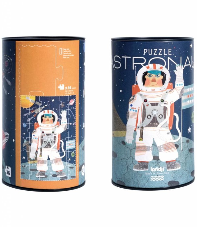 Londji Puzzel koker - Astronaut