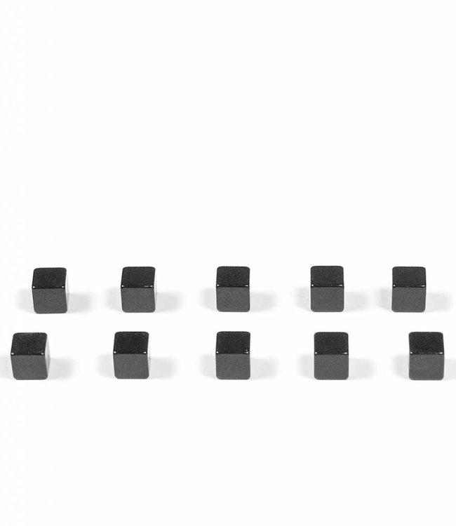 Trendform Magneten - kubus zwart