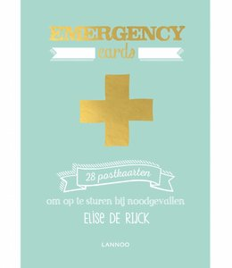 Lannoo 28 postkaarten - Emergency cards