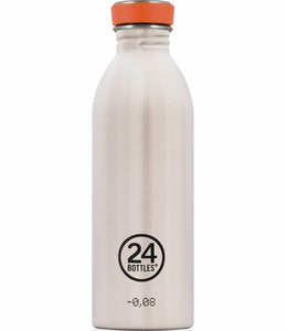 24Bottles Urban drinkfles 0,5l - RVS