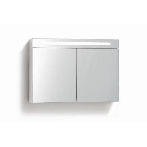 Spiegelkast 80Cm Tl Verlichting & Stopcontact 4 Kleuren Leverbaar