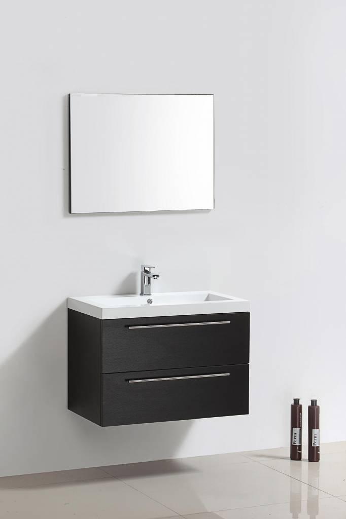Badmeubel New York Zwart Wenge 58 cm Aqua Royal
