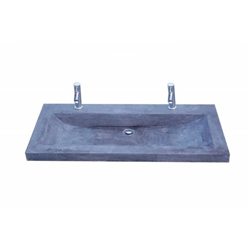 Hardsteen Wastafel Compact Stone 100X38X5 Cm 1 Of 2 Kraangaten