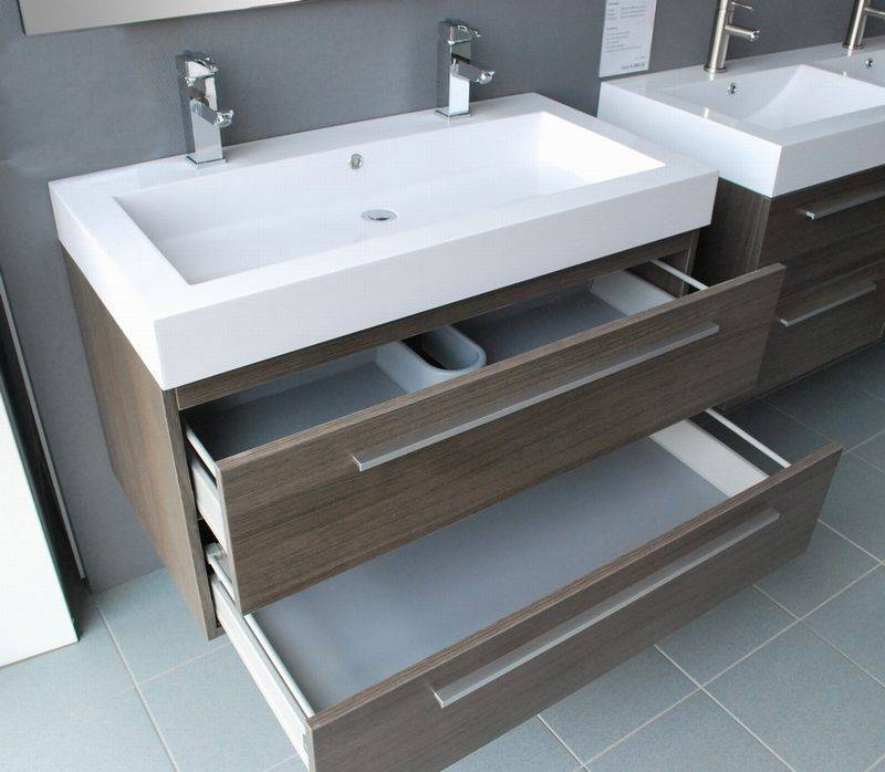 aqua royal badmeubel hollywood 100 cm grey oak 1 of 2