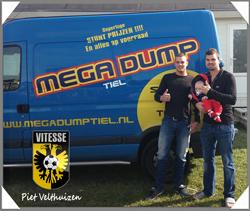 Ook de keeper van Vitesse koopt bij Megadump Tiel !