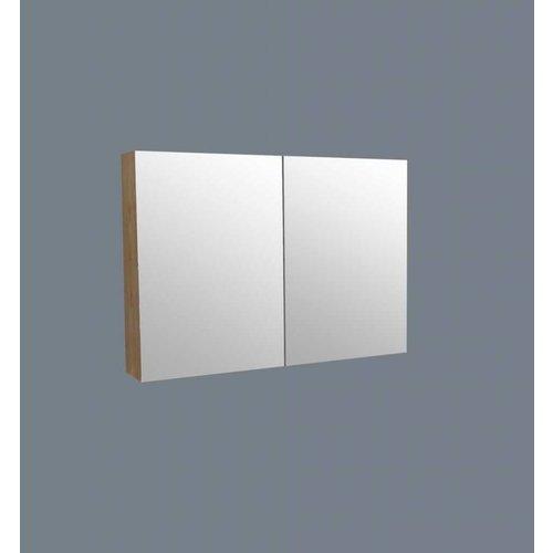 Spiegelkast Wood 120Cm