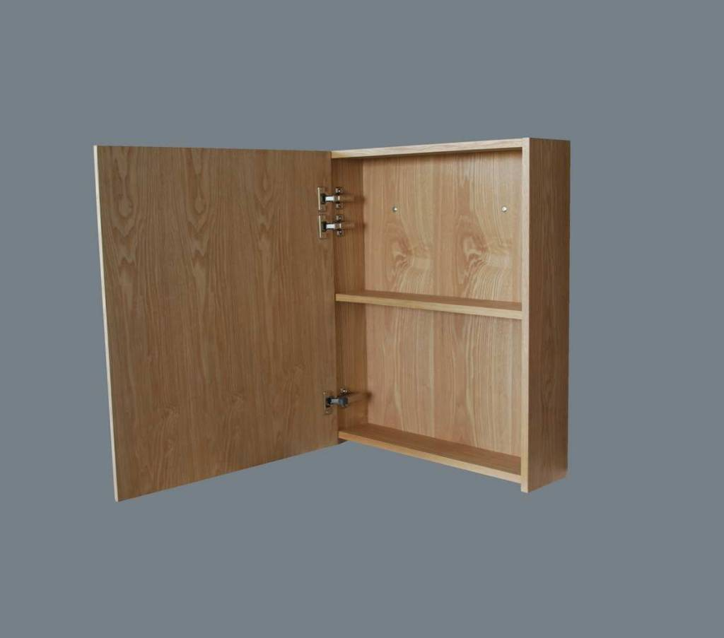 Aqua royal spiegelkast wood 60 cm spiegels megadump tiel for Spiegelkast 60 cm badkamer