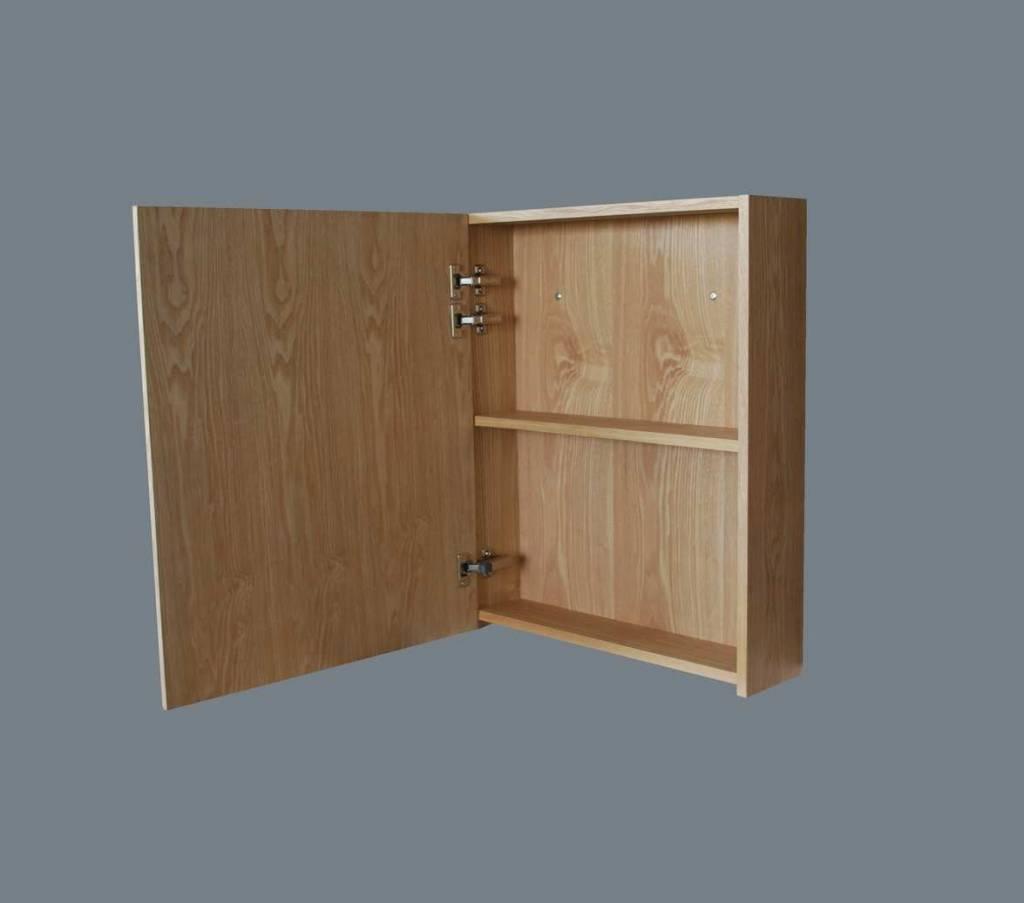 Aqua Royal Spiegelkast Wood 60 Cm | Spiegels - Megadump Tiel