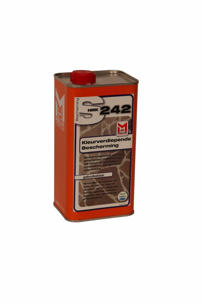 Impregneermiddel Moeller Stone Care Hmk S242 - S42 1 Liter