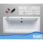 Riho Lusso Whirlpool 180X80X44 Cm Met Balboa Whirlpool Bad Systeem