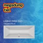 Aqua Viva Ligbad Para Duo 190x90x44 cm