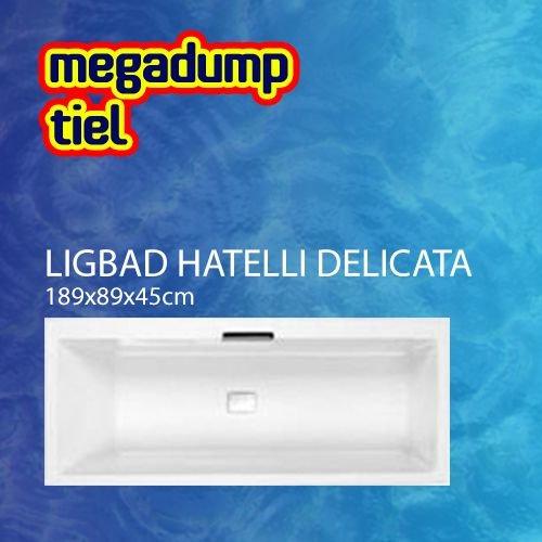 Aqua Viva Ligbad Hatelli Delicata 180X80X45 Cm Wit