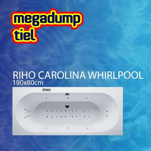 Ligbad Carolina 190X80X48 Cm Sportpakket Deluxe Whirlpool