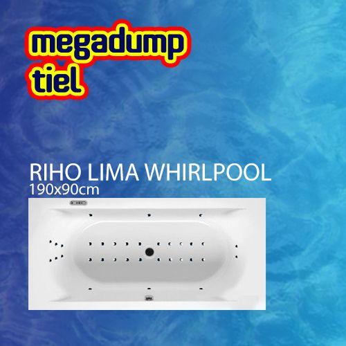 Ligbad Lima 190X90X46 Cm Sportpakket Deluxe Whirlpool