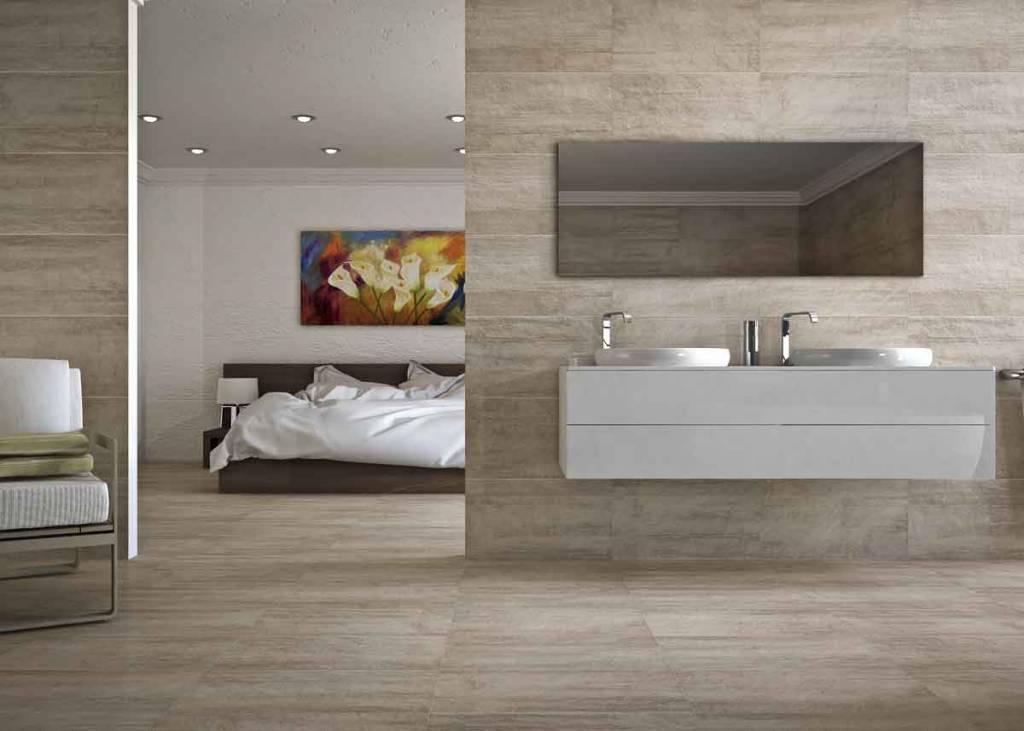 cristacer vloertegel toscana taupe 33x60 p m vloertegels megadump tiel. Black Bedroom Furniture Sets. Home Design Ideas