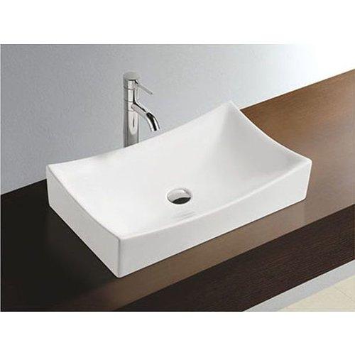Aqua Splash Keramische Opzetwastafel Slide 54X34X12 Cm