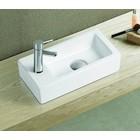 Aqua Royal keramisch fontein Qubic Mini 36,5x18x9 cm rechts/links