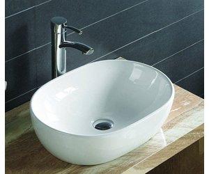 Kleine Waskom Toilet : Aqua royal keramische waskom milano cm wastafels