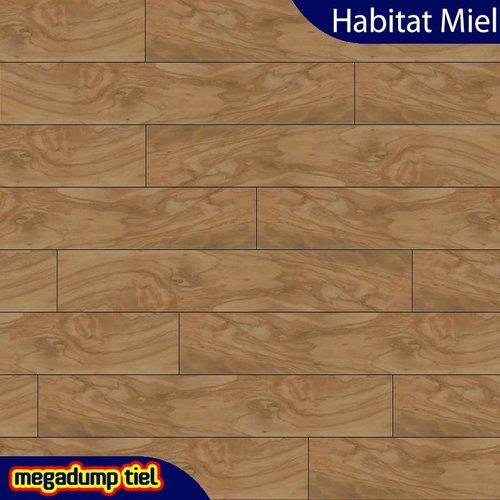 Houtlook Vloertegels Habitat Miel 20X114 P/M²