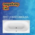 Riho Ligbad Carolina 180X80X48 cm wit