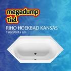 Riho Hoekbad Kansas 190X90X45 cm wit
