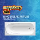 Riho Ligbad Future 180X80X41 cm wit