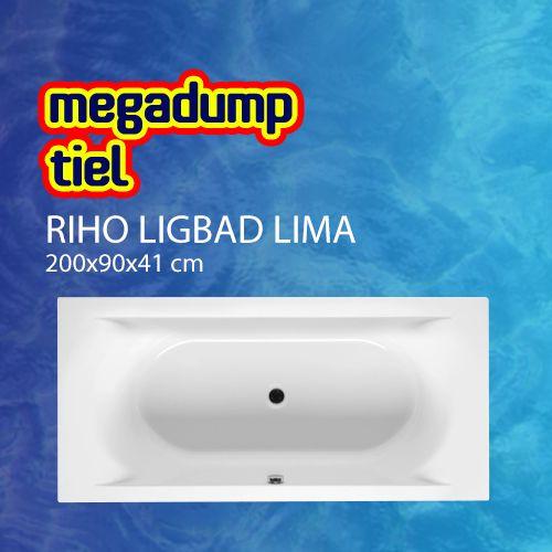 Ligbad Lima 200X90X41 Cm Wit