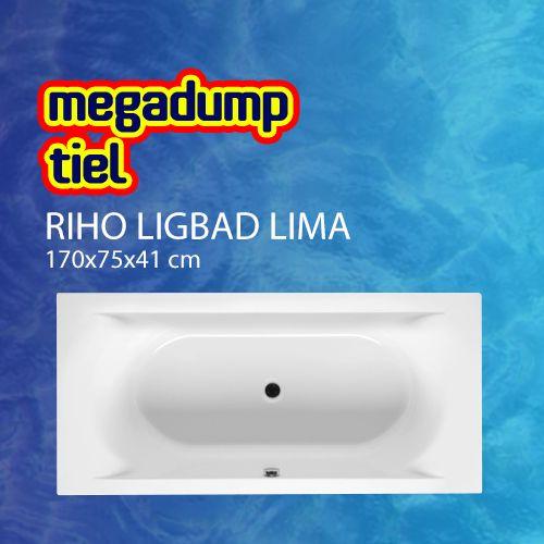 Ligbad Lima 170X75X41 Cm Wit
