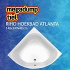 Riho Hoekbad Atlanta 140X140X48 cm wit