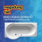 Riho Ligbad Dorado 170X75/90X43 cm rechts/links wit