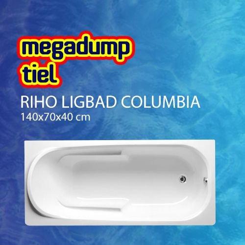 Ligbad Columbia 140X70X40 cm wit