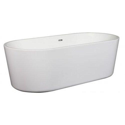Wavedesign Vrijstaand ligbad Blanca 180X80 cm wit